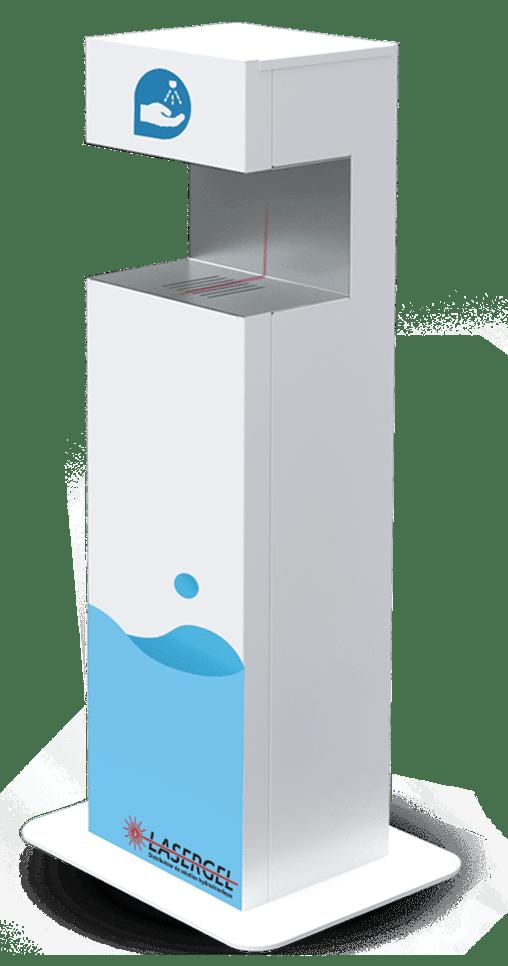 distributeur de solution hydroalcoolique Hygie SG