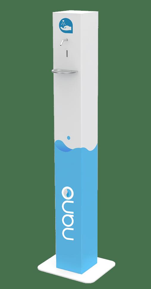 Distributeur de solution hydroalcoolique hygie nano
