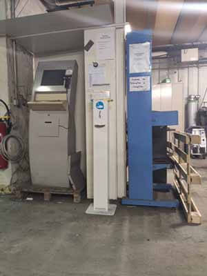 borne solution hydroalcoolique tolerie